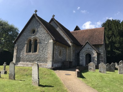 Itchen Abbots church